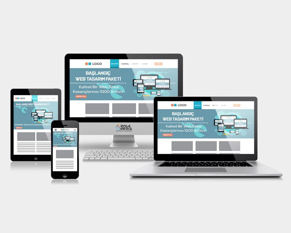 Başlangıç Web Tasarım Paketi