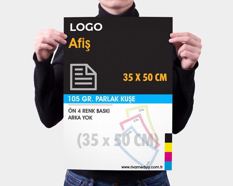 Afiş / Poster - 35x50 CM - (Tasarım + Baskı)