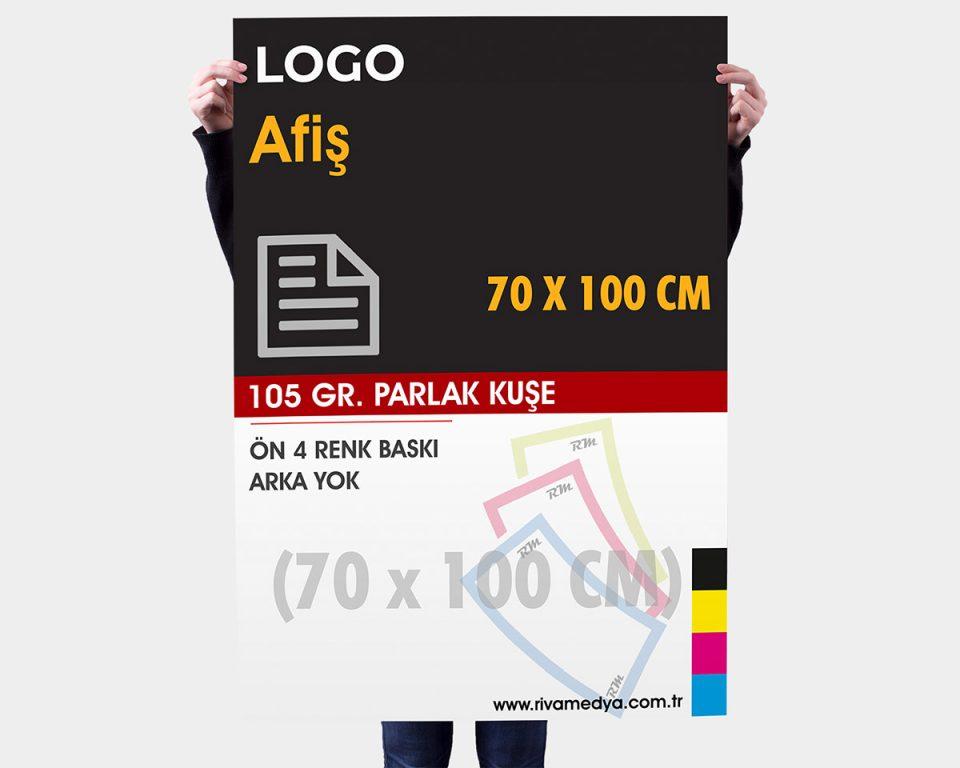 Afiş / Poster - 70x100 CM - (Tasarım + Baskı)