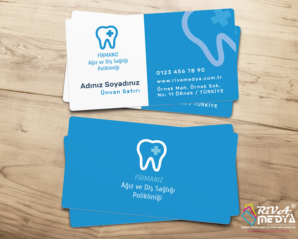 Ağız ve Diş Sağlığı Polikliniği Kartvizit