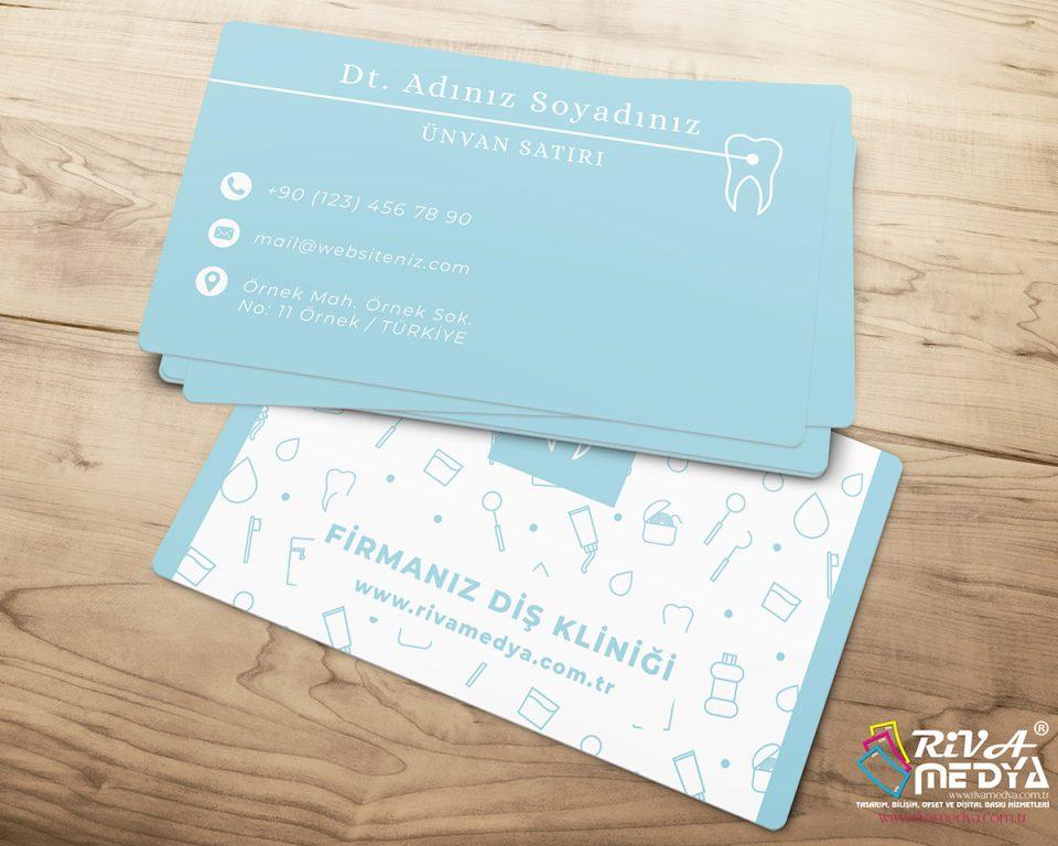 Sade Diş Kliniği Kartvizit
